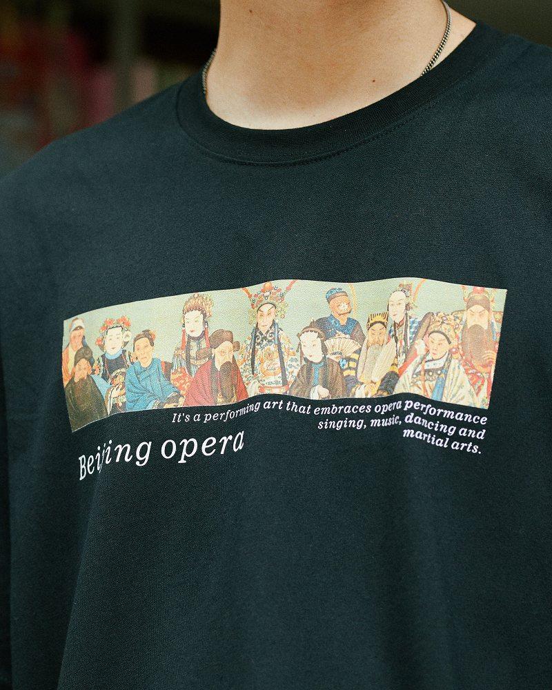 《2色》チャイニーズオペラTシャツの画像5